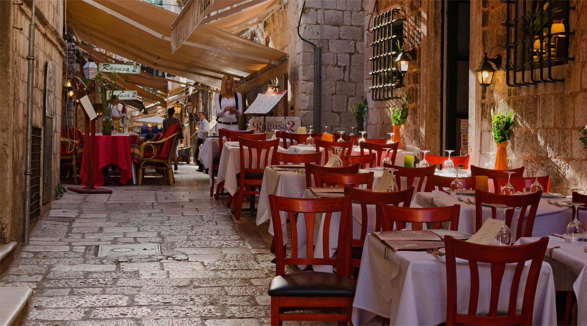 gastronomická cesta po chorvátsku