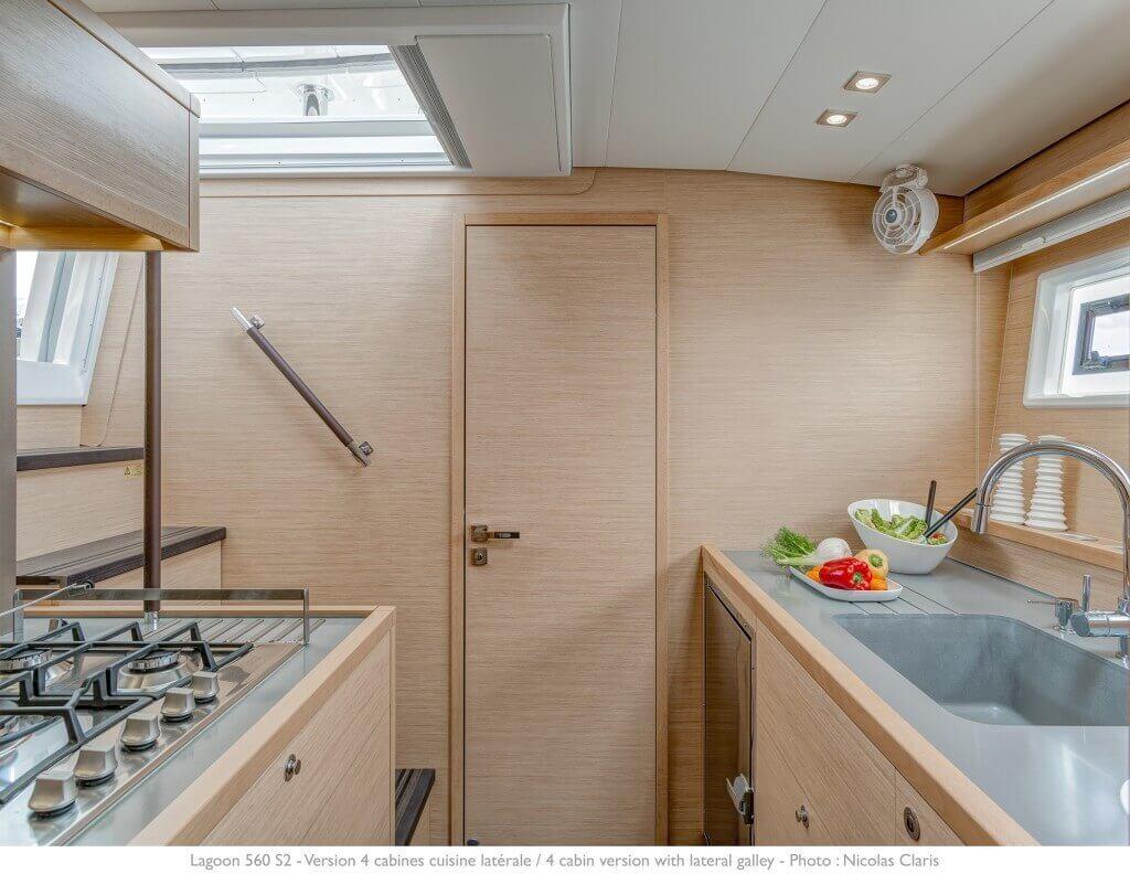 inside the luxurious yacht