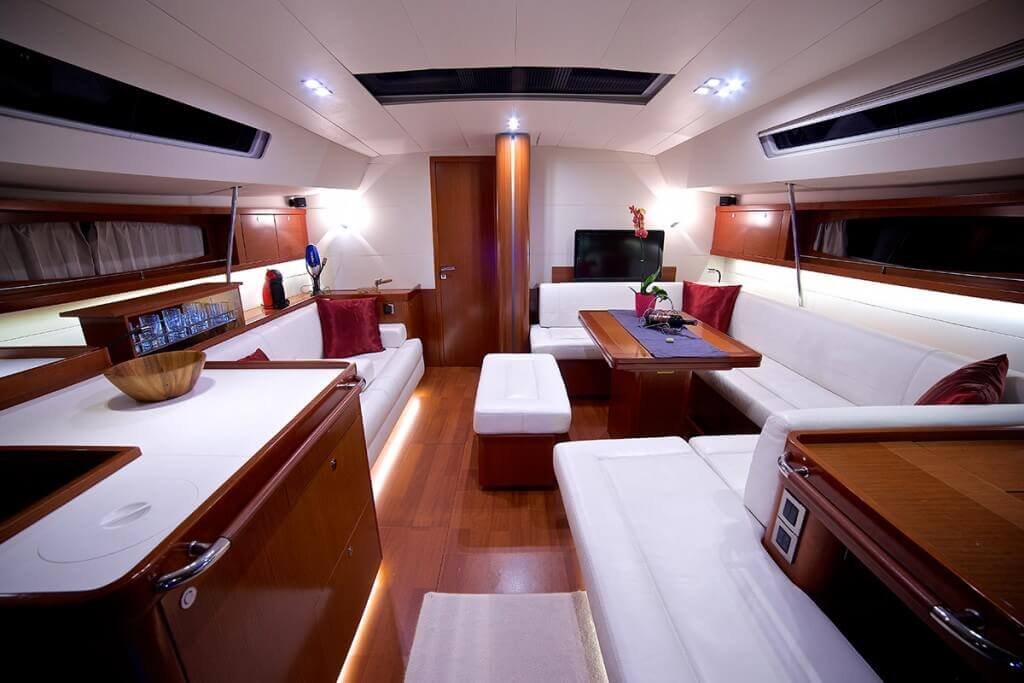 yacht luxury interior