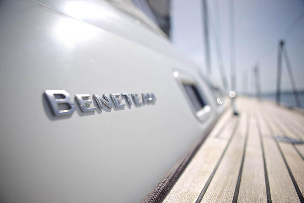 yacht closeup