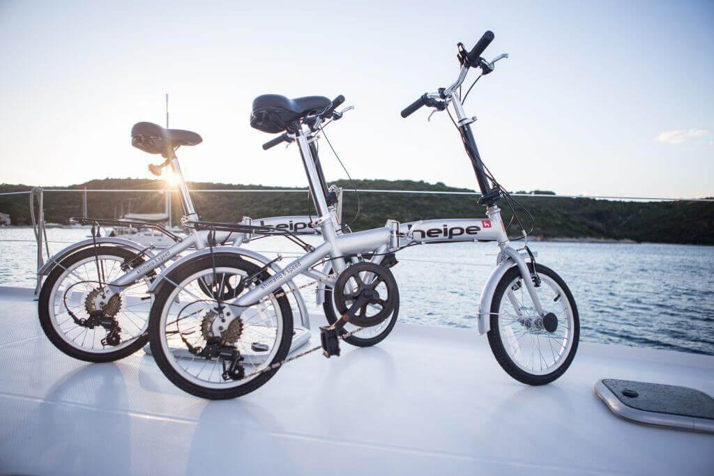 bicykle na jachte