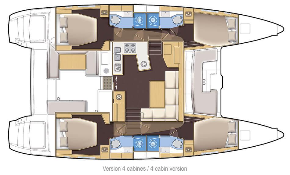 blueprint of a yacht