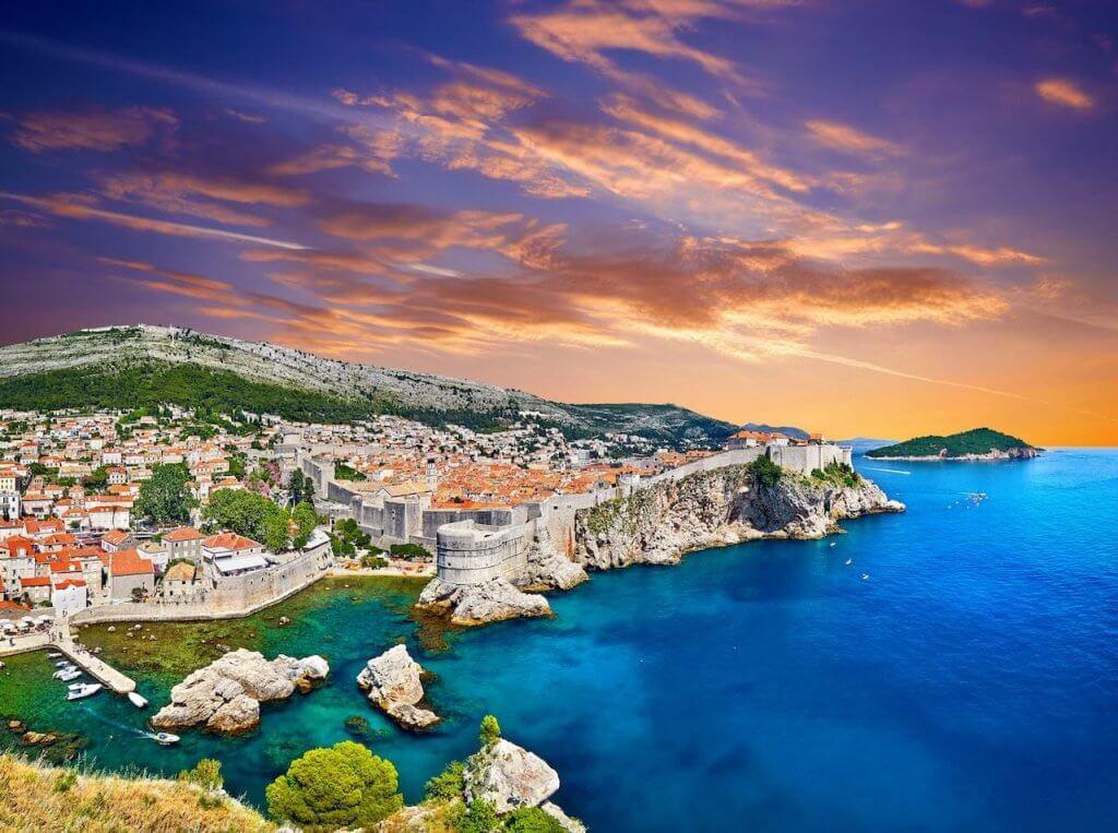 Marina in Dubrovnik